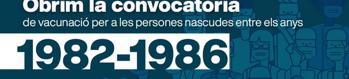 Si tens entre 35 i 39 anys ja pots demanar hora per vacunar-te contra la covid-19