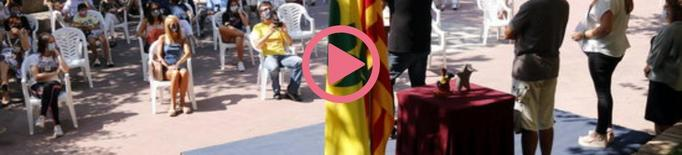 """⏯️ Bellpuig premia Oriol Mitjà pel seu compromís """"a favor dels presos i en defensa de l'autodeterminació de Catalunya"""""""