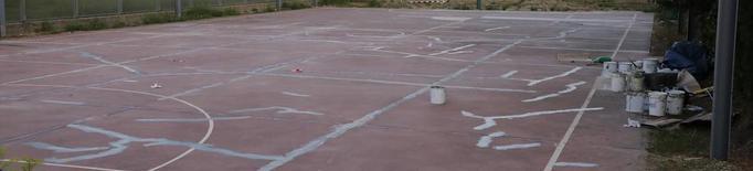 La Paeria rehabilita la pista esportiva de la Bordeta