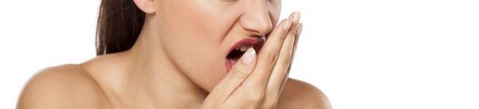 Combat l'halitosi o mal alè