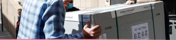 30.000 dosis de la vacuna AstraZeneca arriben a Andorra a través d'un projecte promogut per l'OMS