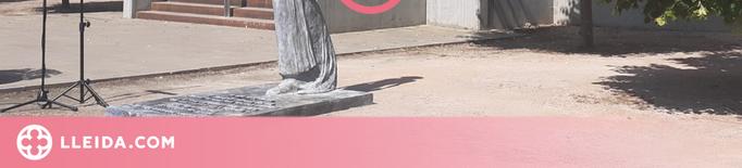 """⏯️ """"La Dama de la Làmpada"""", l'escultura que ret homenatge a les infermeres"""