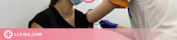 La majoria de treballadors essencials de Lleida es decanta per completar la pauta de vacunació amb AstraZeneca