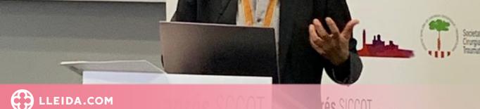 Francesc Pallisó, nou president de la Societat Catalana de Cirurgia Ortopèdica i Traumatologia