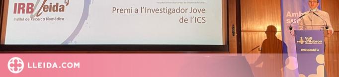 Oriol Yuguero rep el Premi a l'Investigador Jove de l'ICS 2021