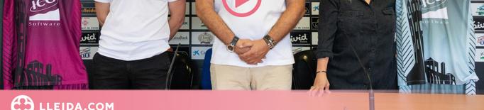 El Força Lleida estrena equipació per aquesta temporada