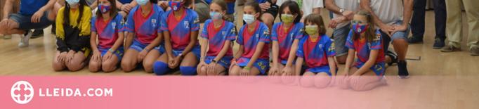 homenatje al Lleida Llista Blava per la consecució de la tercera WS Europe Cup