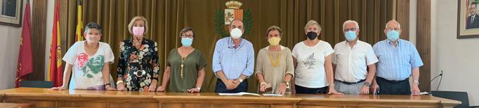"""Vielha e Mijaran renova el conveni anual amb la Llar del Jubilat """"Sant Miquèu"""""""