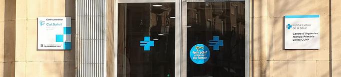 Detinguda per agredir una infermera del CUAP Prat de la Riba de Lleida