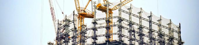 La pujada del preu de les matèries primeres paralitza quatre de cada deu projectes de construcció