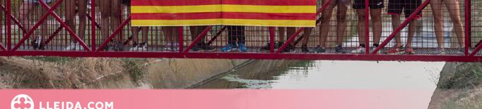 La Paeria cedeix dos passarel·les mòbils al Palau d'Anglesola