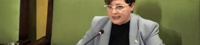 Ángeles Ribes, portaveu de Ciutadans a l'Ajuntament de Lleida