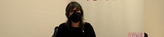 Sandra Castro, tinenta d'alcalde i regidora de Feminismes de l'Ajuntament de Lleida