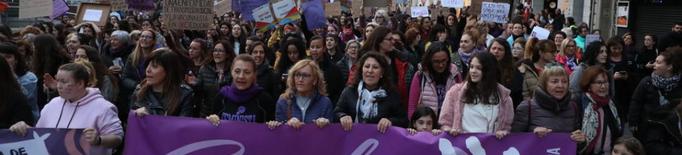 Preview Dia Internacional de la Dona 8-M manifestació a Lleida