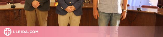 Ricard Pérez visita l'Ajuntament de La Seu d'Urgell