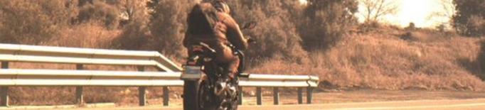 Motocicleta excedint el límit de velocitat