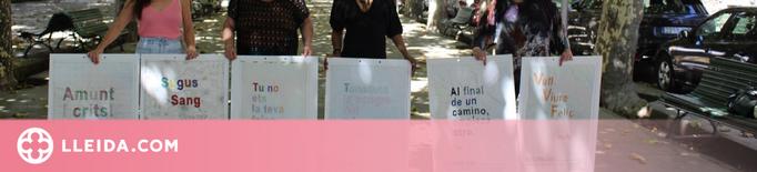 'Volem fer saber', reivindicació a través del brodat als carrers de la Seu