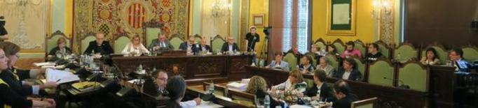 """PSC, Ciutadans, PP i Salmerón veten que la Paeria rebutgi la """"criminalització"""" dels CDR"""