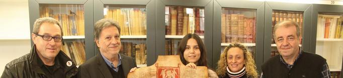 Publiquen una reproducció del pergamí de la confraria dels mercaders de Tàrrega datat l'any 1269 en una sèrie limitada de 550 exemplars