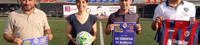 El CF Andorra de Piqué, convidat de luxe al 22è Trofeu Ciutat de Tàrrega