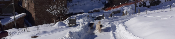 Diversos veïns aïllats al Pallars Sobirà a causa del mal estat dels accessos