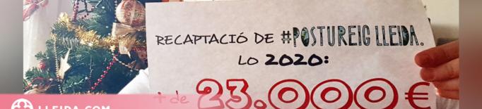 Postureig Lleida recapta i lliura més de 23.000 euros a entitats solidàries de Ponent
