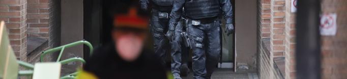 Identifiquen una cinquantena de persones que protegien Hasel per evitar la seva detenció