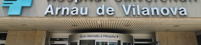 Pugen a 152 el hospitalitzats per covid-19 a Ponent