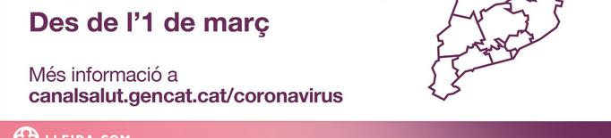 ℹ️ Canvis en les restriccions contra la covid-19 a partir de l'1 de març