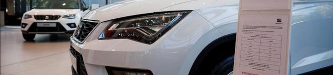 La venda de cotxes cau a Lleida un 42% a l'encarir-se la matriculació