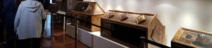 El monestir de Sixena reobre l'exposició de peces del Museu de Lleida