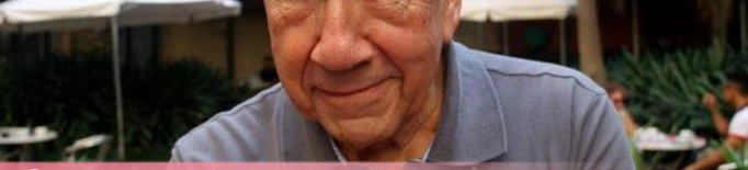 Mor el poeta Joan Margarit als 82 anys