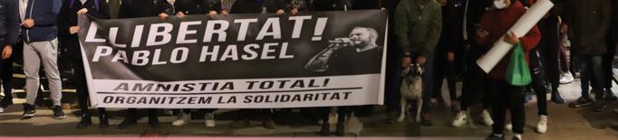 Convoquen protestes durant tota la setmana a Lleida contra l'empresonament de Hasel