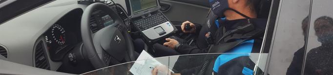 Enxampat un jove que es va gravar conduint a 124km/h a Lleida