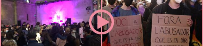 ⏯️ Unes 200 persones alcen la veu a Lleida contra els abusos sexuals a l'Aula de Teatre
