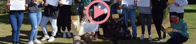 ⏯️ Doble premi de la Societat Catalana de Biologia per l'alumnat d'un institut lleidatà