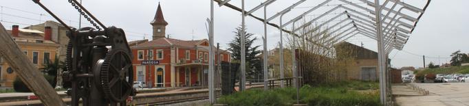 Tàrrega valora traslladar els antics molls de l'estació ferroviària per preservar-los