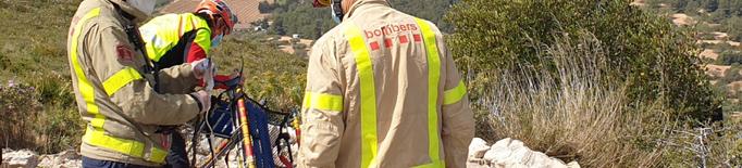 Els Bombers criden a la prudència i a la seguretat en les activitats al medi natural