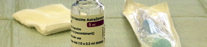 Una part dels citats per vacunar-se amb AstraZeneca no acudeixen a la cita