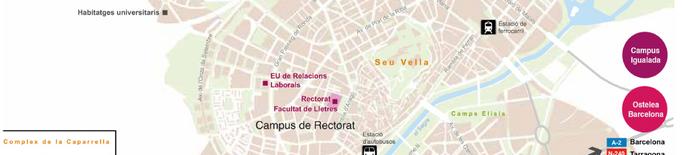 La UdL maparà punts insegurs per a dones en espais universitaris i entre campus