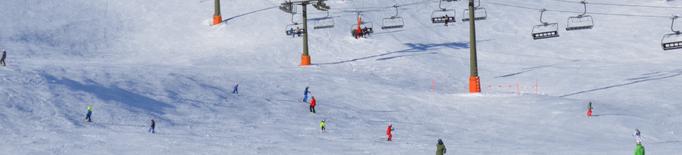 Una estacio lleidatana modificarà els telecadires per a esquiadors novells