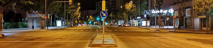 Toc de queda a Lleida, Mollerussa i Tàrrega
