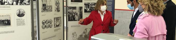 Camarasa acull l'exposició itinerant sobre la vaga de la Canadenca