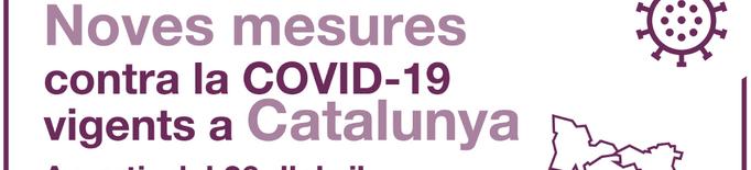 ℹ️ S'acaba el confinament comarcal i es restableix la mobilitat lliure a Catalunya