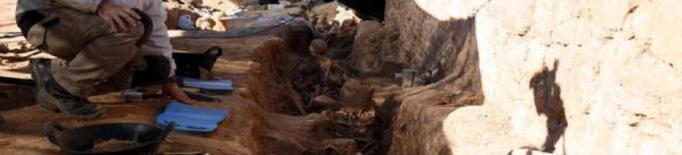 Identifiquen dos soldats més de la Guerra Civil a la fossa del Soleràs