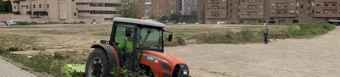 Participa en la plantació d'arbrat als nous parcs del carrer Alcalde Pujol i Ciutat Jardí de Lleida