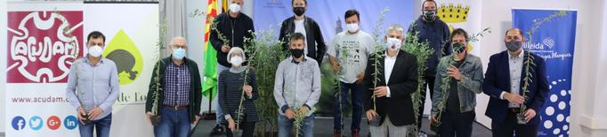 1.300 oliveres solidàries per als municipis garriguencs afectats pels incendis i els aiguats