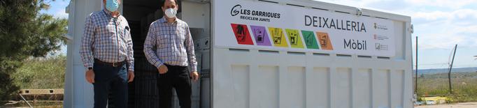 Les Garrigues posa en marxa la deixalleria mòbil després de restaurar-la