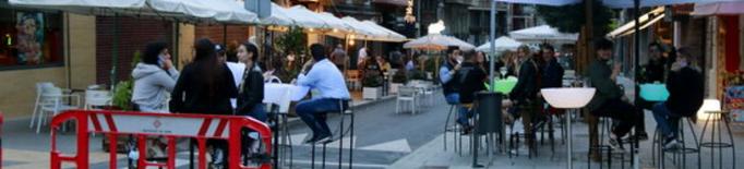 Nous talls de trànsit el cap de setmana a Lleida per facilitar la ubicació de terrasses