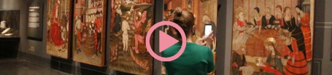 ⏯️ El Museu de Lleida inaugura les sales del gòtic